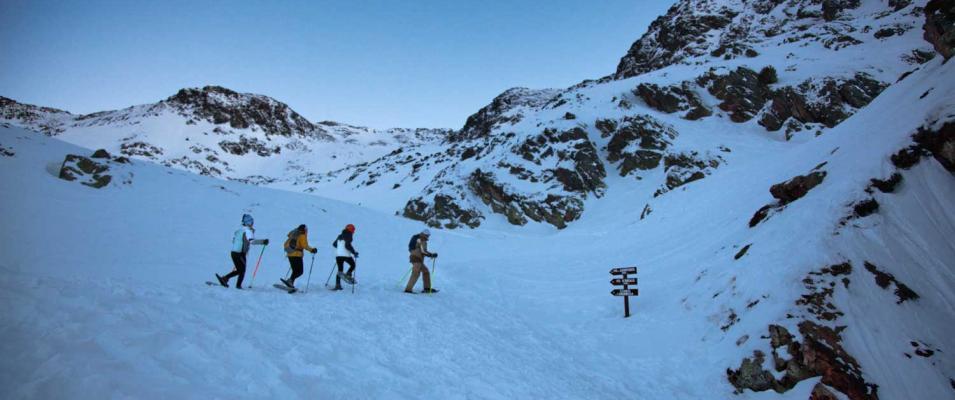 Grup raquetes de neu Hotel Les 7 Claus Andorra