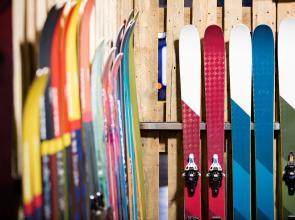 Luggage storage and ski storage Hotel Les 7 Claus Andorra