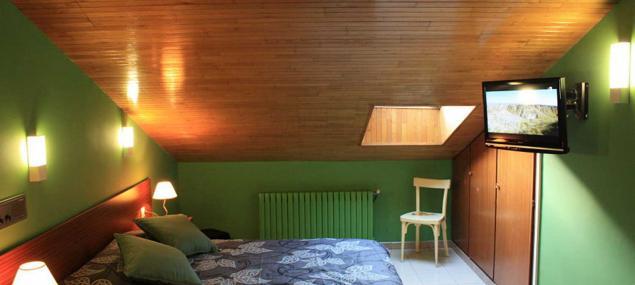 Double room attic Hotel Les 7 Claus Andorra