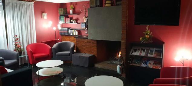Living room Hotel Les 7 Claus Andorra